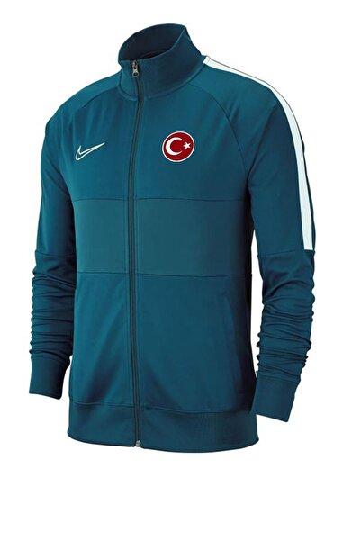 Nike Acdmy19 Milli Takım Baskılı Ceket Aj9180-404 Turkuaz