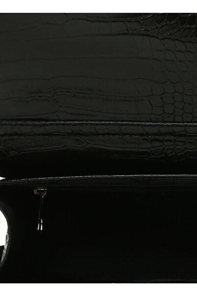 Fabrika Siyah  Omuz Çantası
