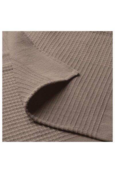 IKEA Tek Kişilik Yatak Örtüsü, Açık Kahverengi Meridyendukkan 150x250 Cm %100 Pamuk Yatak Örtüsü