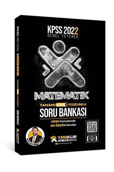 Yediiklim Yayınları 2022 Kpss Genel Yetenek Atölye Serisi Matematik Tamamı Video Çözümlü Soru Bank