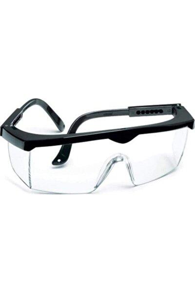 Axu Tam Korumalı Şeffaf Ayarlı Çapak Gözlüğü (laboratuvar Gözlüğü)