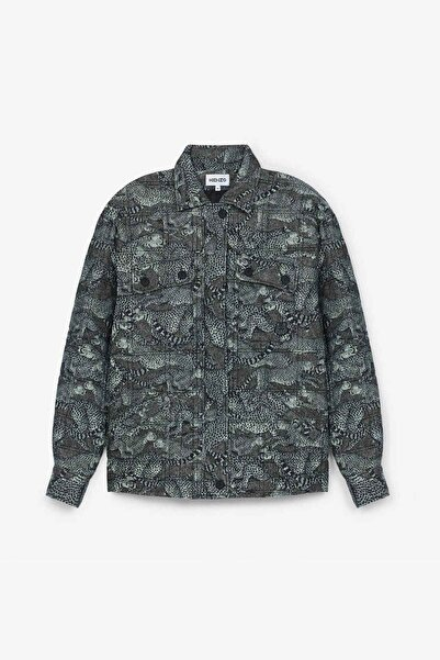 Kenzo Çita Logolu Dolgulu Ceket