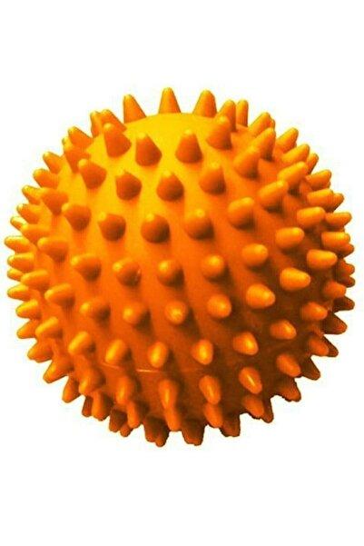 Türkmedical Duyu Uyarıcı Dikenli Masaj Topu Egzersiz Topu Sert 6 Cm -turuncu