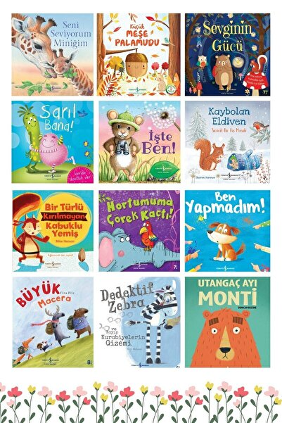 İş Bankası Kültür Yayınları 12'li Çocuk Kitabı Seti