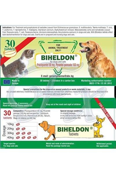 Dino Pet Butik Aksesuar Biheldon Ithal Kedi Ve Köpekler Için Iç Parazit Tableti