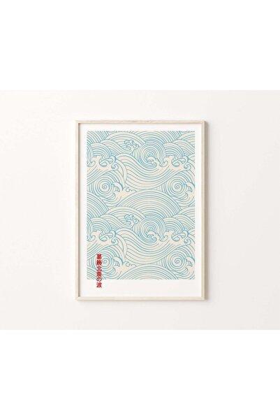 Yaris Note Japanese Waves Çerçevesiz Poster