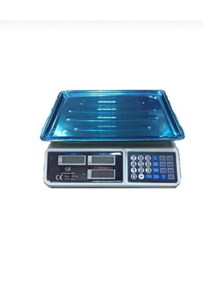 LUX Market Pazarcı Manav Ve Kasap Terazisi 40 Kg Kapasiteli Elektronik Dijital Bakkal Ensağlam