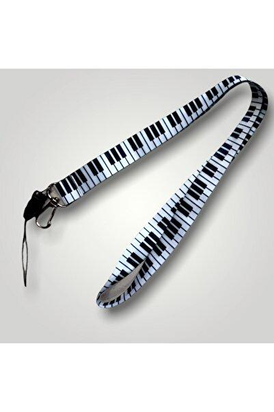 Elementtukkan Piyano Tuşları Isimlik, Telefon Askısı, Kolye, Anahtarlık