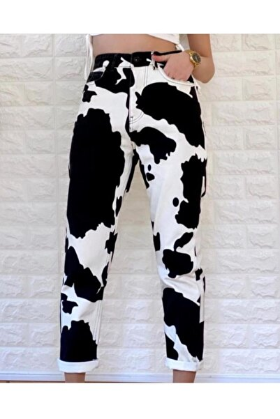 ABULUT Milka Desen Pantolon