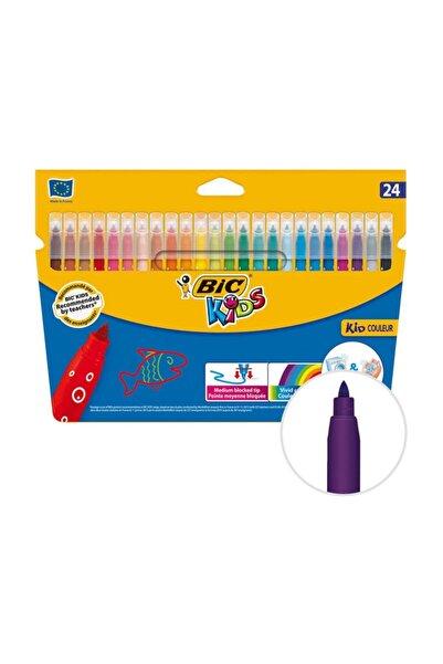 Bic Kids Couleur 841800 Keçeli Boya Kalemi 24'lü Paket