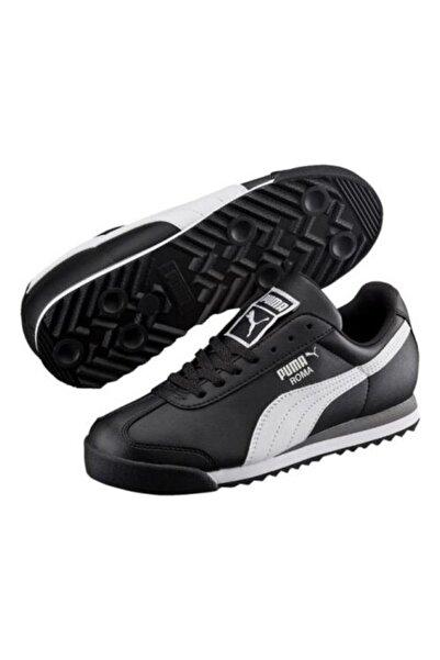 Puma Roma Basıc Günlük Spor Ayakkabı Siyah - 35425901