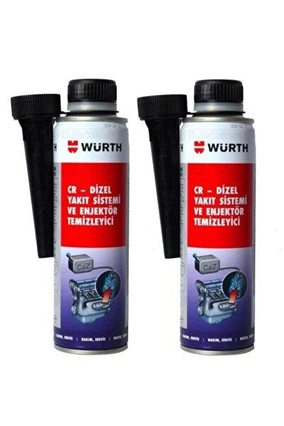 Würth Cr-dizel Yakıt Sistemi ve Enjektör Temizleyici 300 ml x 2 Adet