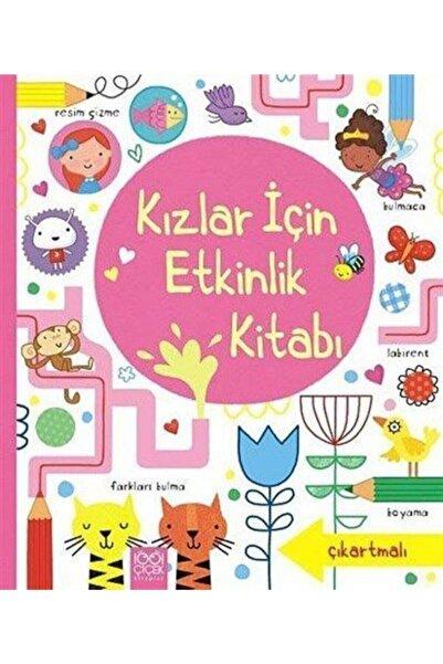 1001 Çiçek Kitaplar Kızlar Için Etkinlik Kitabı (çıkartmalı)
