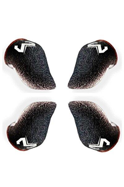 TELAHOME Pubg Parmaklık Eldiveni M  Logo Oyuncu Eldiveni 2 Çift 4 Adet