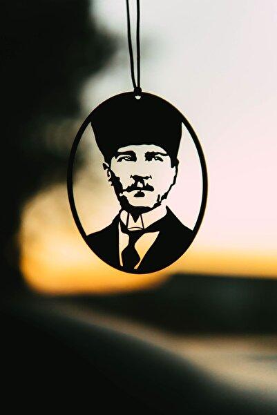 Oyunzu Araba Süsü Metal Mustafa Kemal Atatürk Dikiz Aynası Süsü