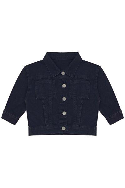 Kids Of Heart Siyah Kahve Ayıcıklı Kot Ceket