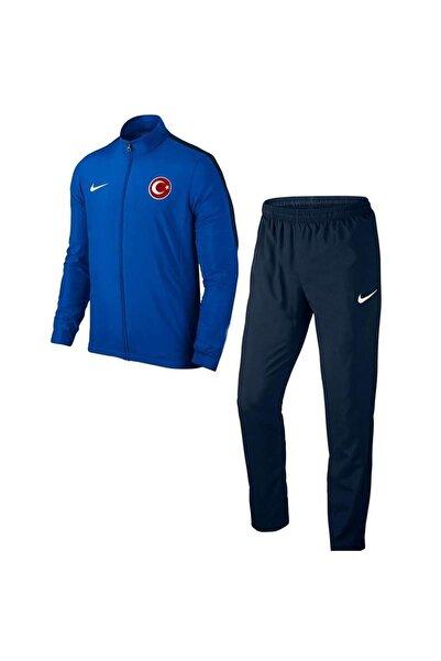 Nike Acdmy16 Milli Takım Baskılı Çocuk Eşofman 808759 Mavi