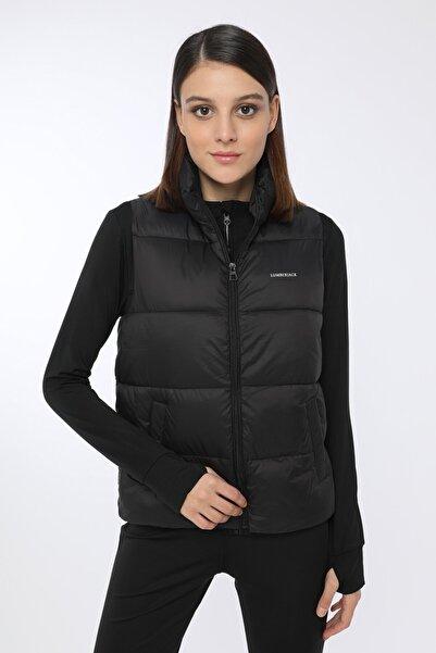 lumberjack Kadın Siyah Renk Hafif Kapşonsuz Şişme Yelek Thıcky Vest