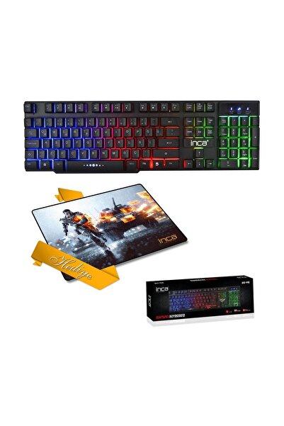 Inca IKG-446 Mekanik Hisli Oyuncu Klavye+Mouse Pad (HEDİYELi)