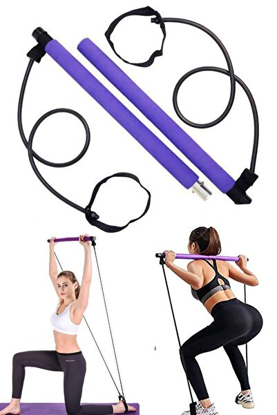 Taled Portable Pilates Studio Jimnastik Egzersiz Çubuğu