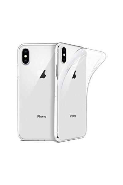 dijimedia Apple Iphone X/xs Kılıf Silikon Arka Kapak Şeffaf