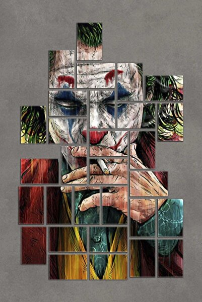 Dekolia 30 Parça Puzzle Kuşe Kağıt Duvar Posteri Tablo Seti Joker Pzldkl-108