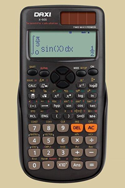 Daxi X-600 , 417 Fonksiyonlu , Geniş Lcd Ekran , Üst Seviye Bilimsel Hesap Makinesi