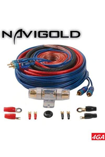 Navigold 4ga Kalın Kaliteli Profesyonel Full + Full Anfi Set Kablo 1. Sınıf Kalıite