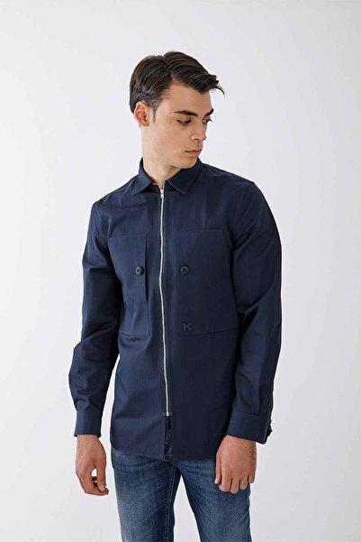 Kenzo Fermuarlı Gömlek Ceket