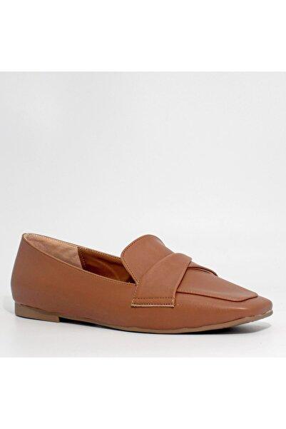 cundashoesbyipek Taba Loafer Ayakkabı