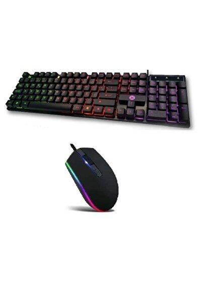trendstok Dexim Kbl322 Gaming Klavye + Fx-83 Işıklı Mouse