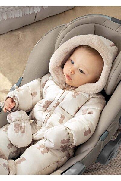 MAYORAL Kız Bebek Baskılı Astronot Tulum