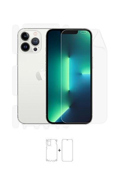 Wrapsol Apple Iphone 13 Pro Ön, Arka, Yan, Darbe Emici Poliüretan Fullbody Amerika Üretimi
