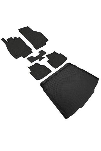 Refref Vw Passat B8 B8.5 4d Havuzlu Paspas Ve 4d Bagaj Havuzu Kauçuk Pvc Içermez 2015 Ve Üstü Siyah Renk