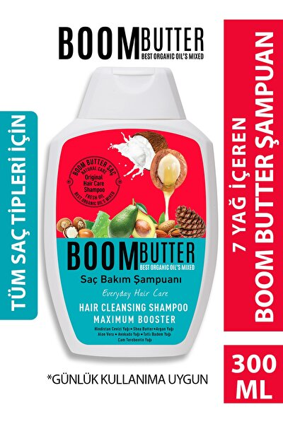 Herbal Science Boom Butter Komple Bakım Saç Şampuanı 300 Ml