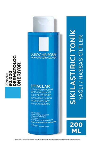 La Roche Posay Effaclar Mikro Soyucu Tonik Yağlı/Akneye Eğilim Gösteren Ciltler Ciltler Gözenek Sıkılaştırıcı 200ml
