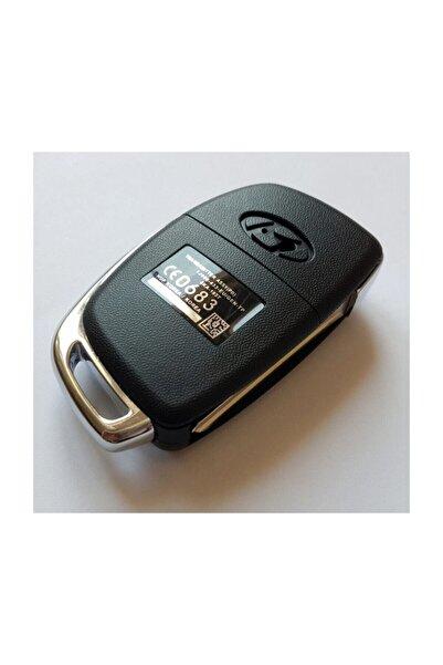 Skilit Olimbera Store Hyundai Sustalı Kumanda Kabı 3 Buton Vidalı Orijinal Logolu Hyn14r Uçlu