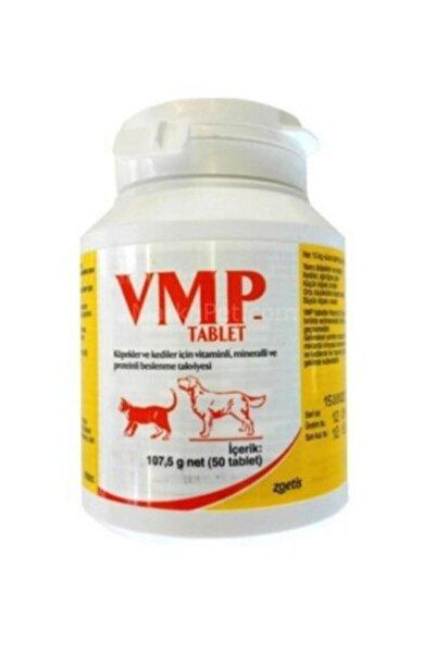 ZOETİS Vmp Tablet 50 Adet Kedi Köpek Vitamin Mineral Protein Beslenme Ve Tüy Dökülme Önleyici