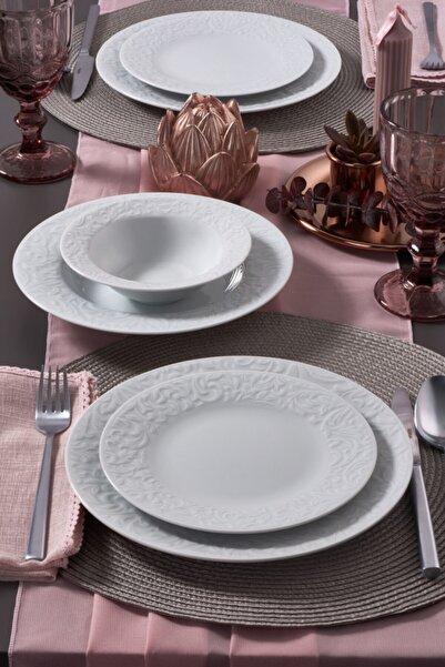 Güral Porselen Güral 24 Parça Bronte Yemek Takımı