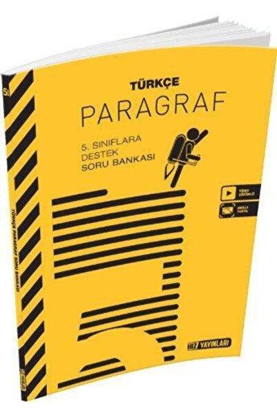 Hız Yayınları 5.sınıf Türkçe Paragraf Soru Bankası