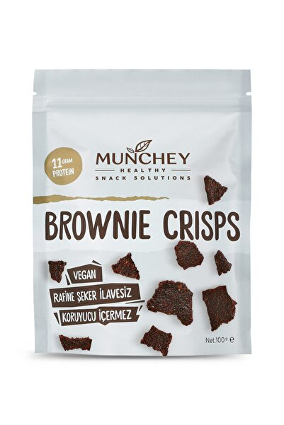 MUNCHEY Büyük Boy (100 GR) Brownie Crisps