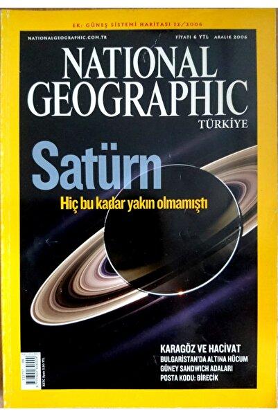 NATIONAL GEOGRAPHIC Türkiye - Aylık Dergi (aralık 2006)