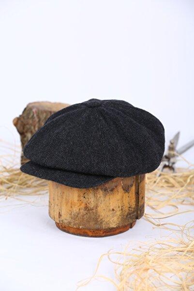Jenkins Balık Sırtı Erkek Peaky Blinders Kasket Sicilya Beckham Model Şapka