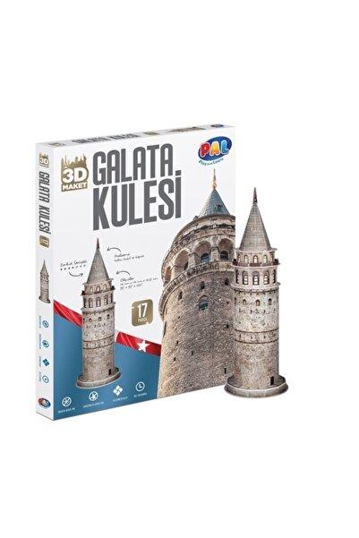 Bal Oyuncak 3 Boyutlu Galata Kulesi Maket Puzzle
