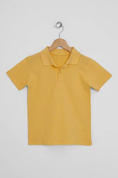 zepkids Erkek Çocuk Basic Polo Yaka T-shirt 5-12 Yaş