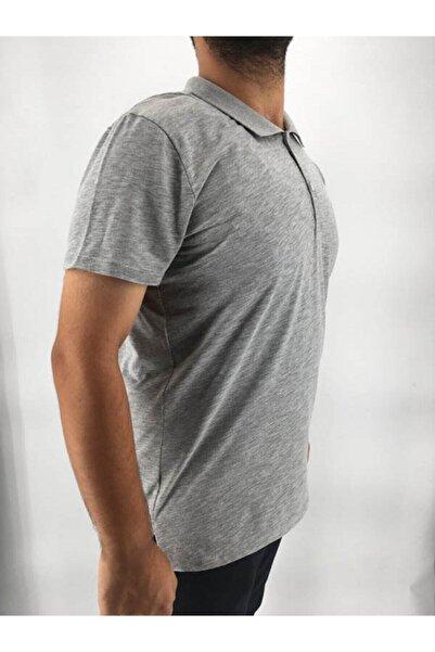 By Toğuşlu Erkek Gri Full Likralı Tişört