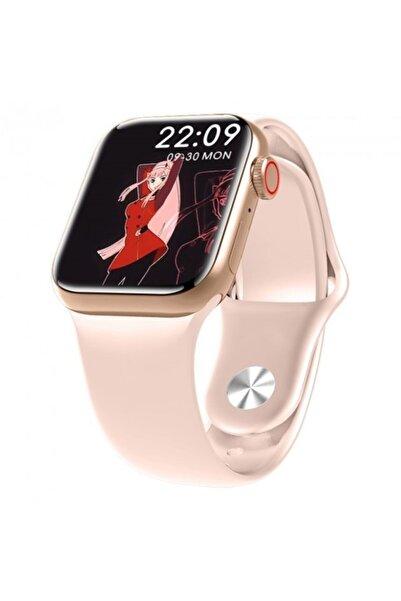 BySarsa M16 Plus Smart Watch 1.75inç Full Hd Ips Ekran 2021 Akıllı Saat Gold