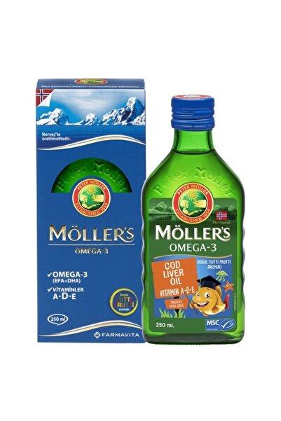Möller's Tutti Frutti Omega 3 Balık Yağı 250 ml