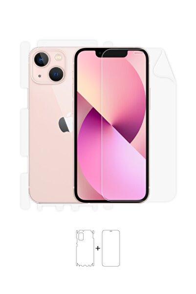 Wrapsol Apple Iphone 13 Mini Ön, Arka, Yan, Darbe Emici Poliüretan Fullbody Amerika Üretimi
