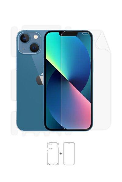 Wrapsol Apple Iphone 13 Ön, Arka, Yan, Darbe Emici Poliüretan Fullbody Amerika Üretimi